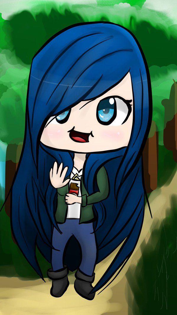 Itsfunneh Eating Fan Art Drawing Aphmau Characters Anime