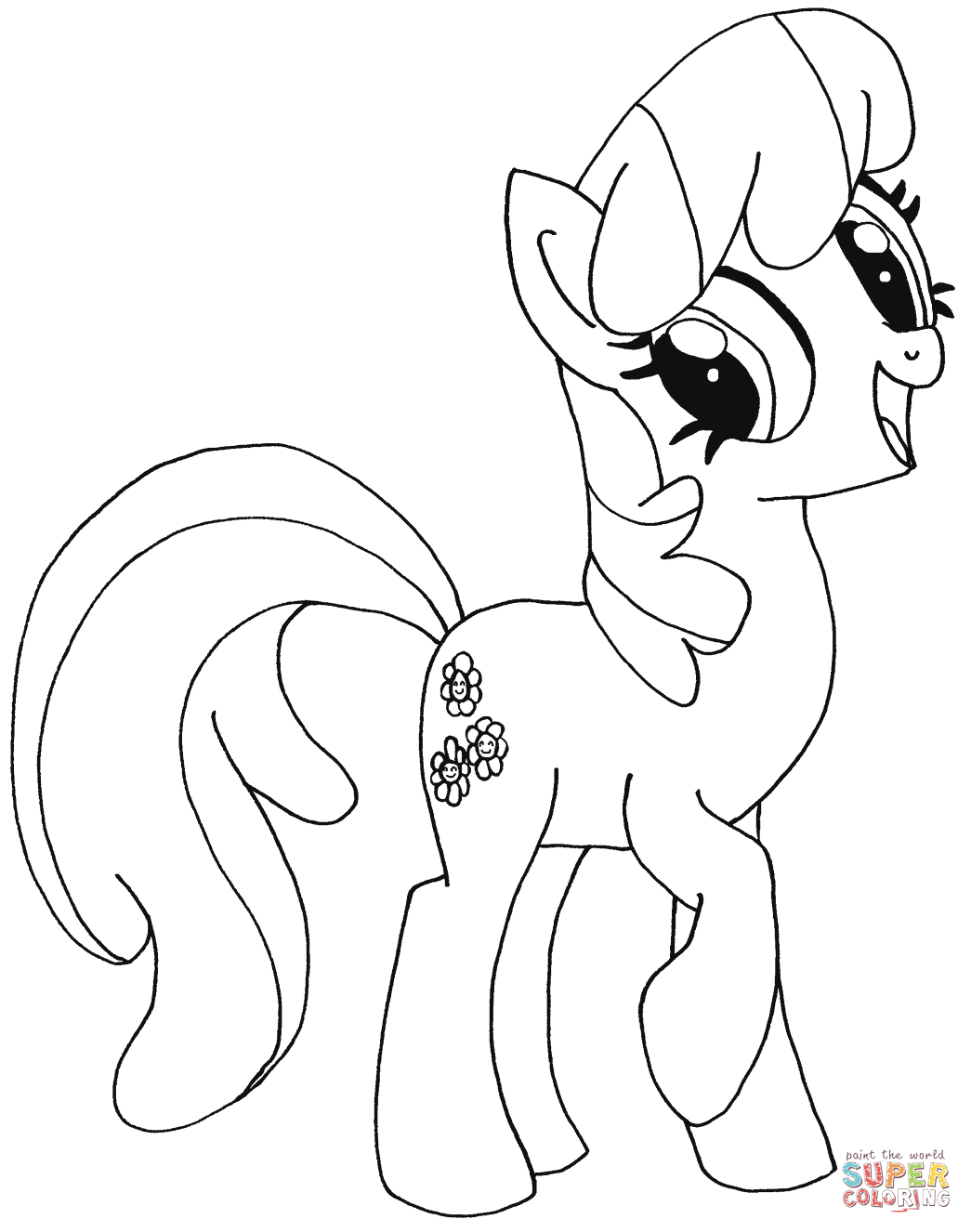 My Little Pony Cheerilee Coloring Page Free Printable Coloring Pages My Little Pony Coloring Mermaid Coloring Pages Moon Coloring Pages