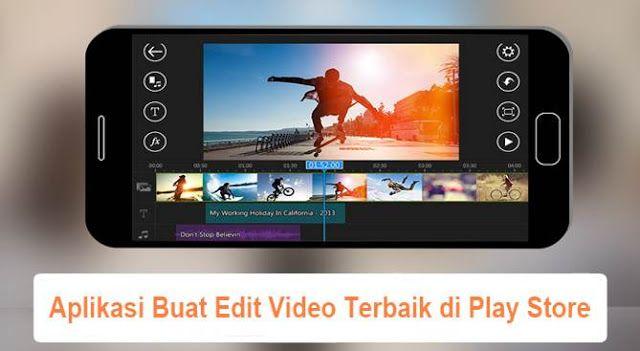 8 Aplikasi Android Terbaik Untuk Mengedit Video Aplikasi Android Edit Video Smartphone Aplikasi Video Smartphone