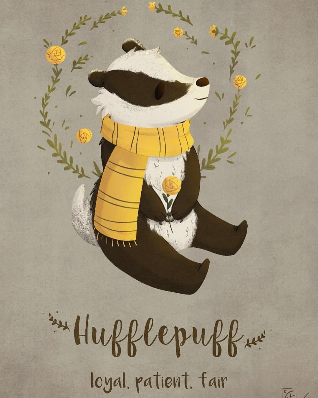 Hufflepuff! Cute and dangerous