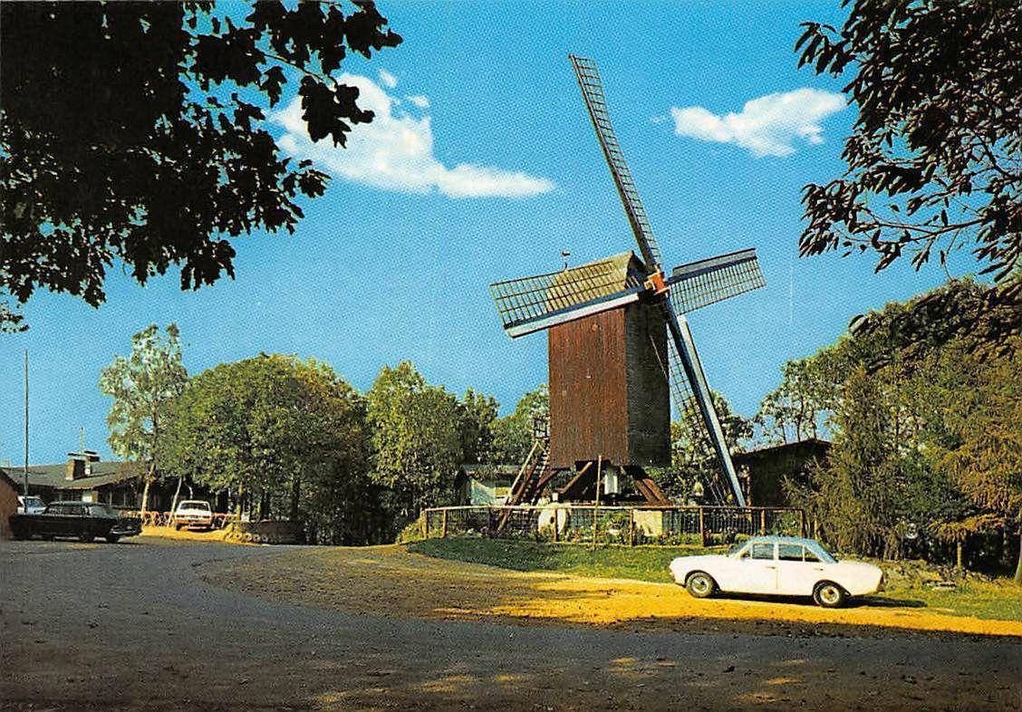 Belgium Rode Berg Westouter Molen Moulin Mill Auto Vintage Cars ...