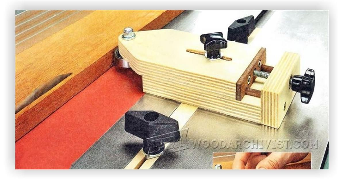 Table Saw Thin Rip Jig - Table Saw Tips, Jigs and Fixtures ...