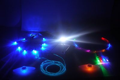 Standard Lights Package: Burner Essentials: 2 Spoke Bike Lights ...