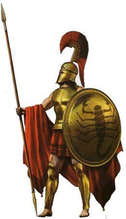 Sparta And Athens Ancient Warfare Greek Warrior Greek Soldier