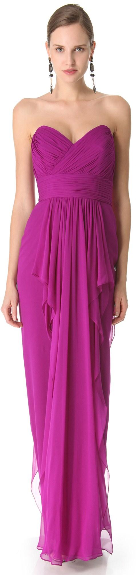 VIOLETA....❤ | Vestidos | Pinterest | Ropa formal, Magenta y Vestiditos