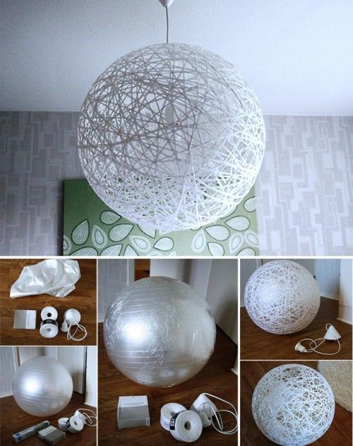 How to make your cool lamp shade step by step DIY...