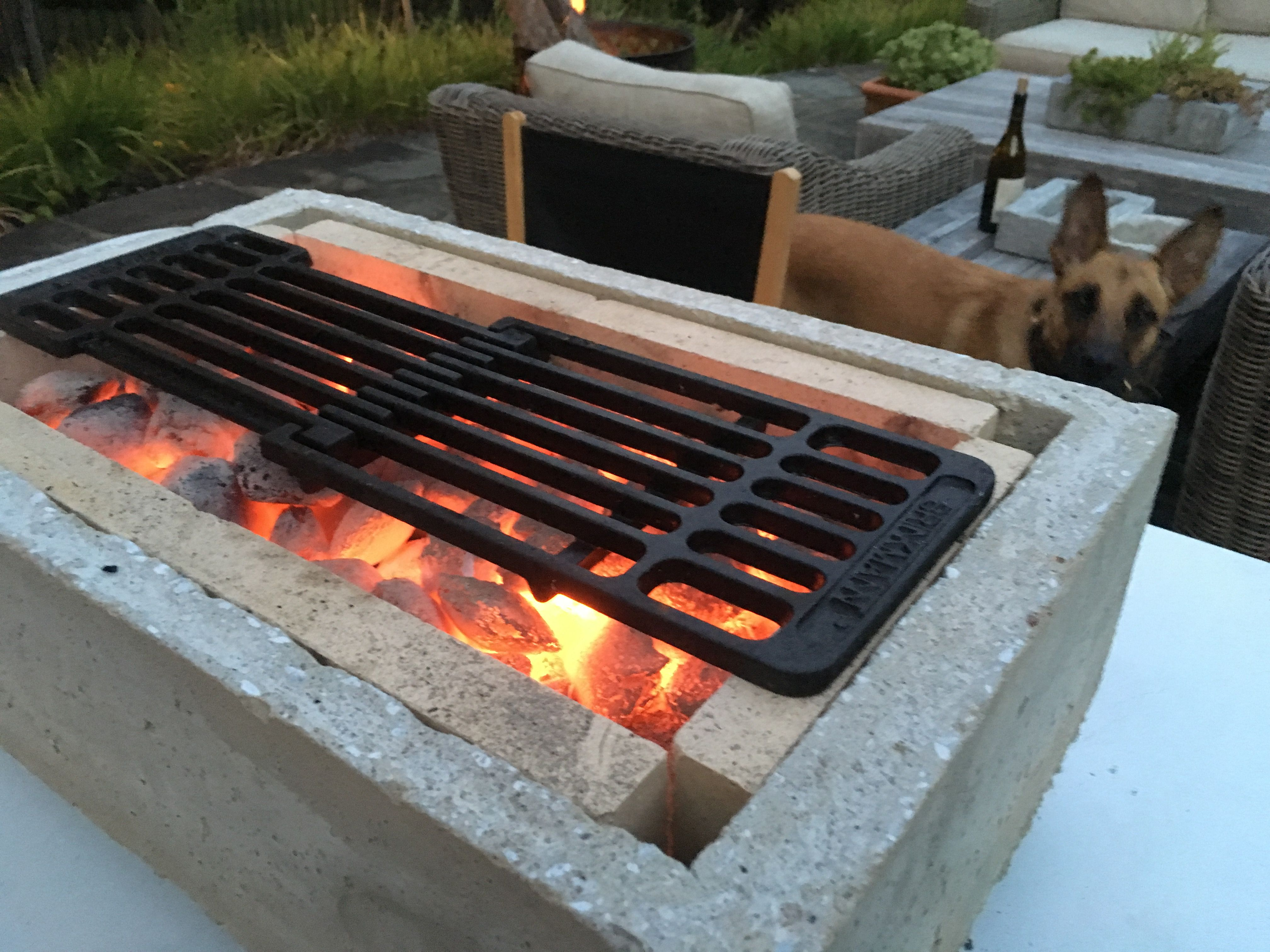 Concrete Hibachi With Images Cleaning Bbq Grill Outdoor