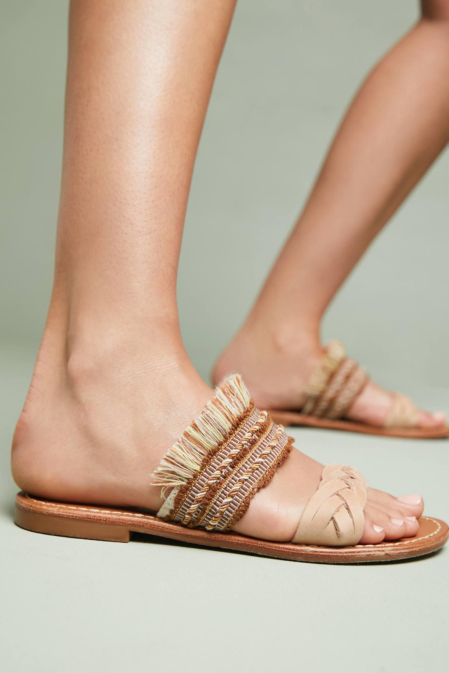 19fcb96dbe30 Soludos x Anthropologie Panarea Braided Slide Sandals