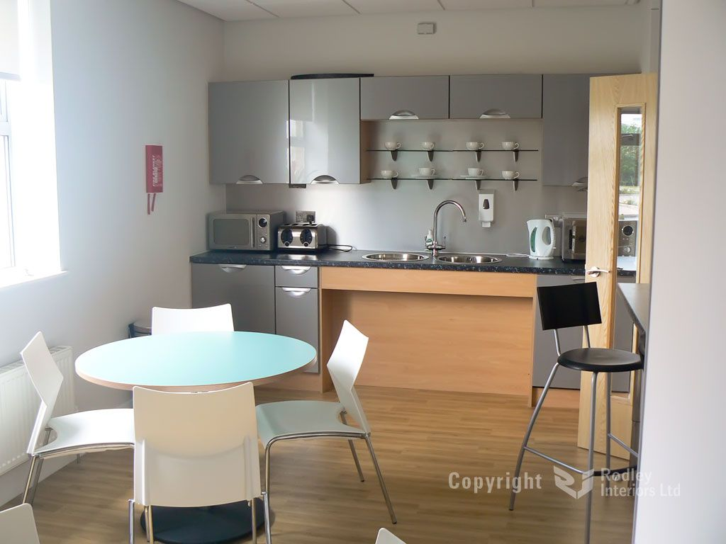 Office Kitchen Refurbishment And Tea Points Office Cabin Design Office Break Room Kitchen Refurbishment