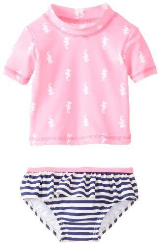 NWT GAP Baby Swim Rashguard Girl one piece 6 12 18 24 Months UPF 40+