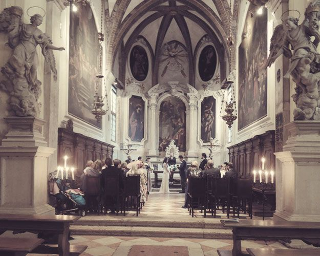 Church Wedding In Venice Italy