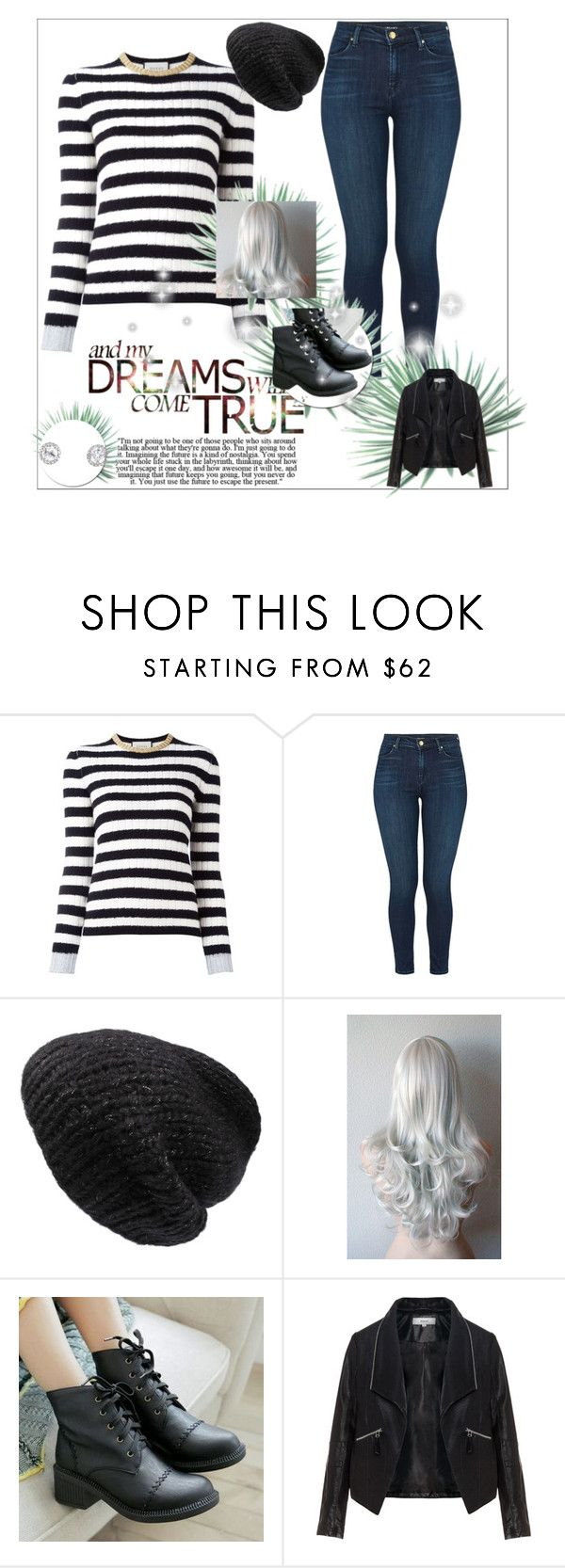 """""""Naomi"""" by melrionwolfblood ❤ liked on Polyvore featuring Gucci, J Brand, Mes Demoiselles..., Pangmama, Zizzi and Agave"""