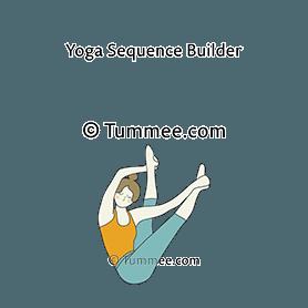 boat pose twist variation hands to feet yoga parivrtta
