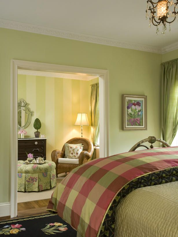 20 colorful bedrooms - Green Color Bedroom