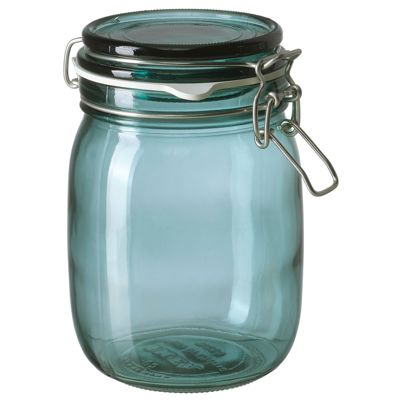 Korken Jar With Lid Green 1 L 34 Oz In 2020 Jar Food Storage Organization Food Storage