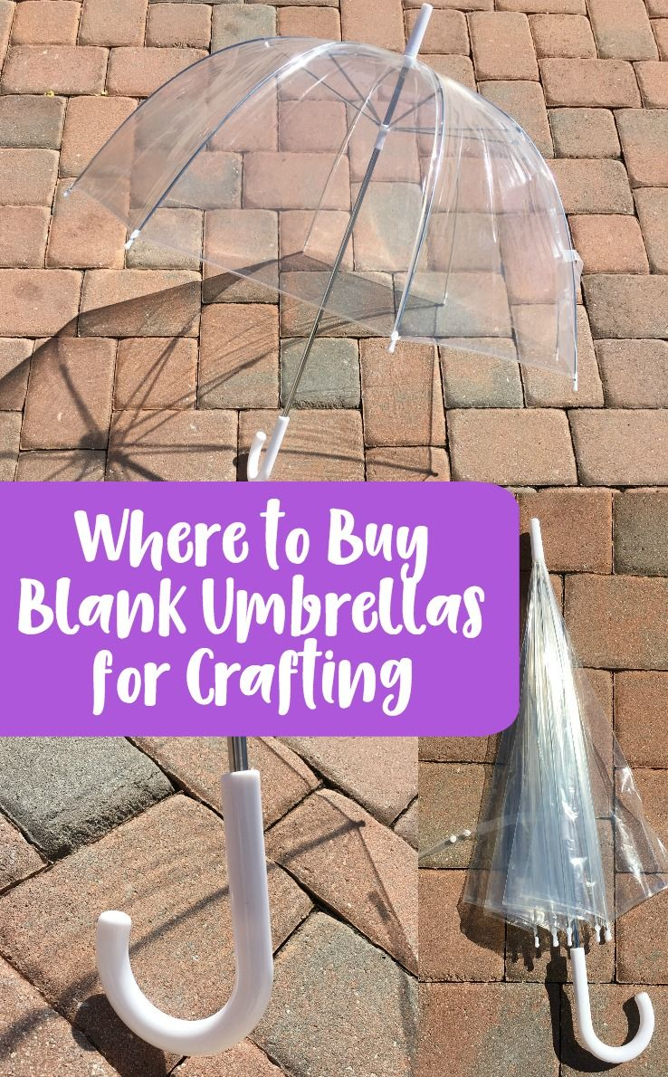 Photo of Supplier Spotlight: Where to Buy Blank Umbrellas for Crafting – Cutting for Business