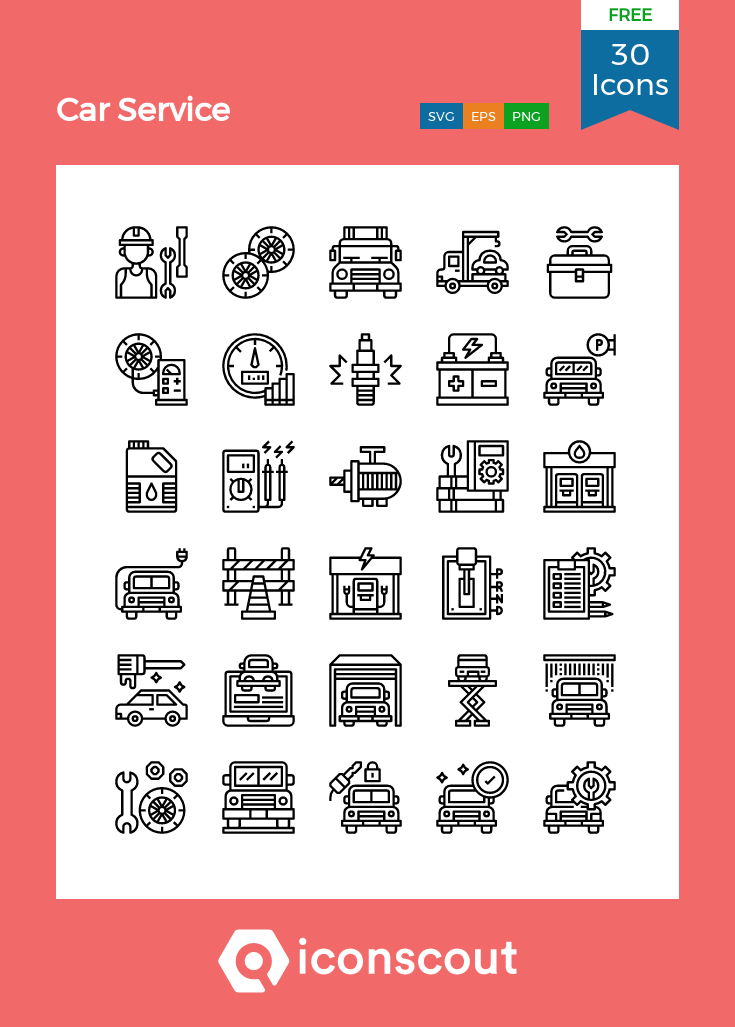 Download Car Service Icon Pack Available In Svg Png Eps Ai Icon Fonts Car Icons Icon Pack Free Icon Packs