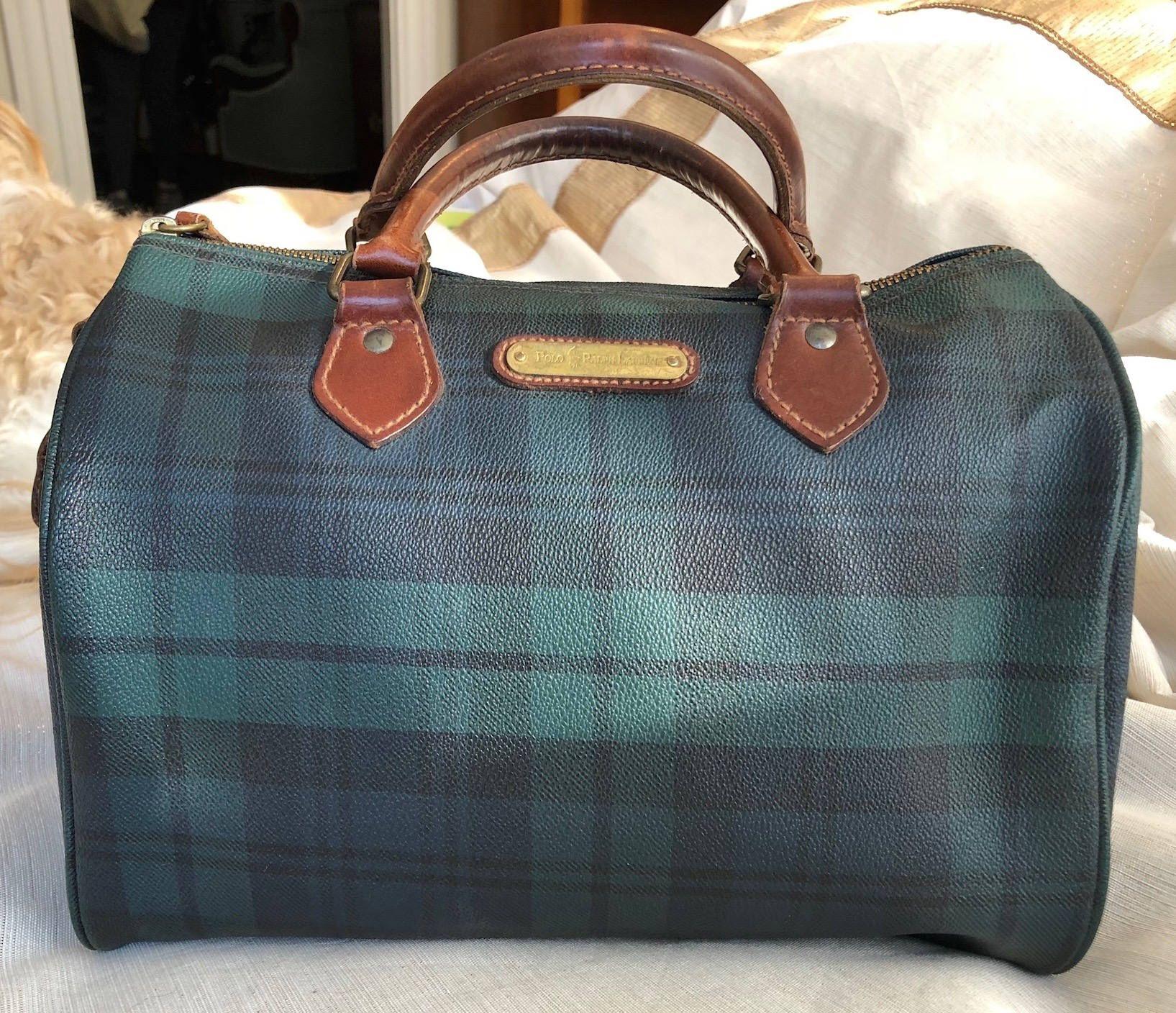 Ralph Boston 1990'sEstate Lauren Iconic Speedy Polo Bag Vintage P0Oknw
