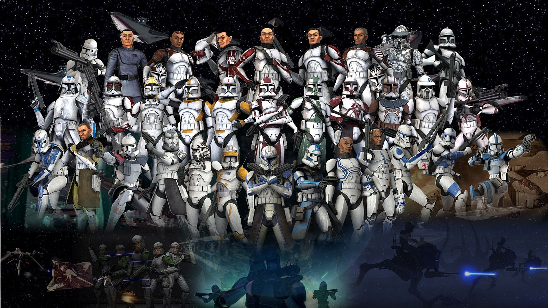 Clone Troopers Wallpaper By Volkrex Deviantart Com On Deviantart