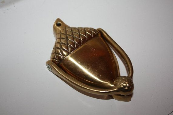 Charmant Brass Door Knocker