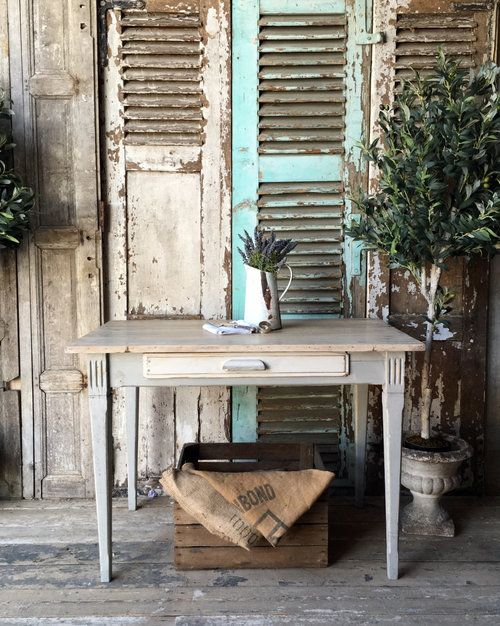 Antique U0026 Upcycled. Farmhouse TableFrench ...
