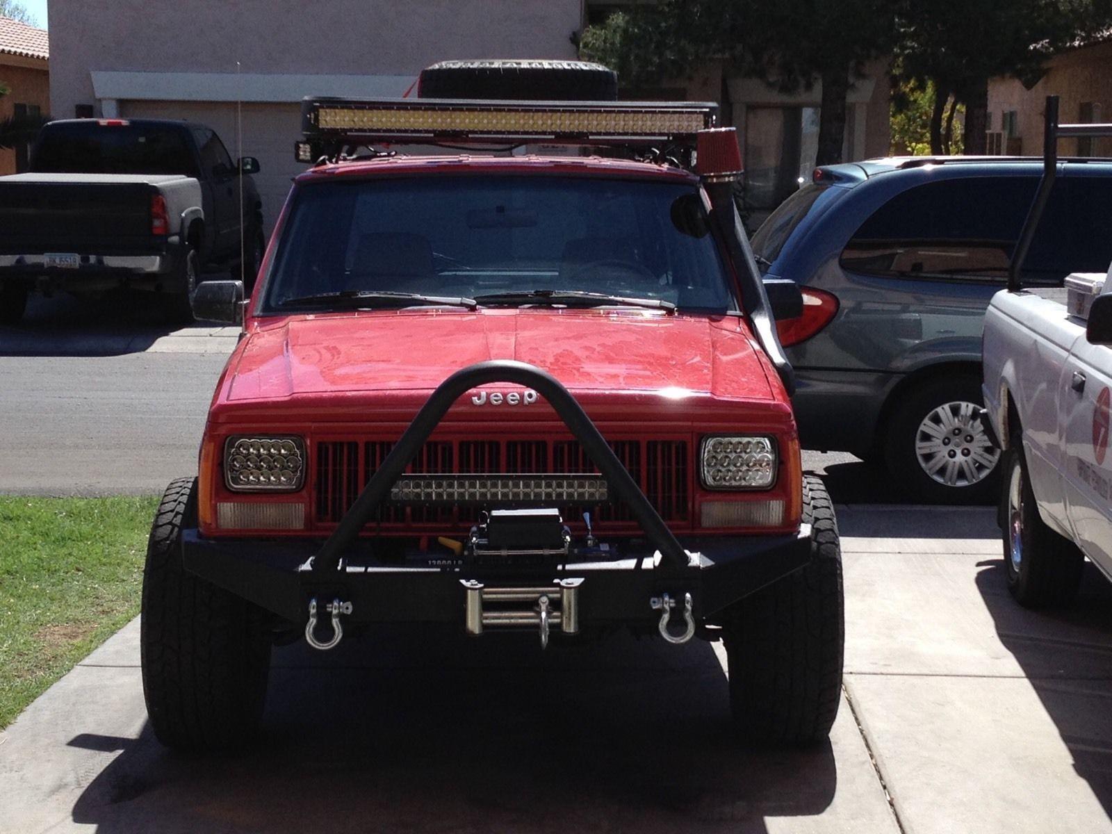 1998 1999 2000 2001 Jeep Cherokee Yj Led Hid Cree H6054 Headlamp Headlights 2001 Jeep Cherokee Jeep Cherokee Jeep