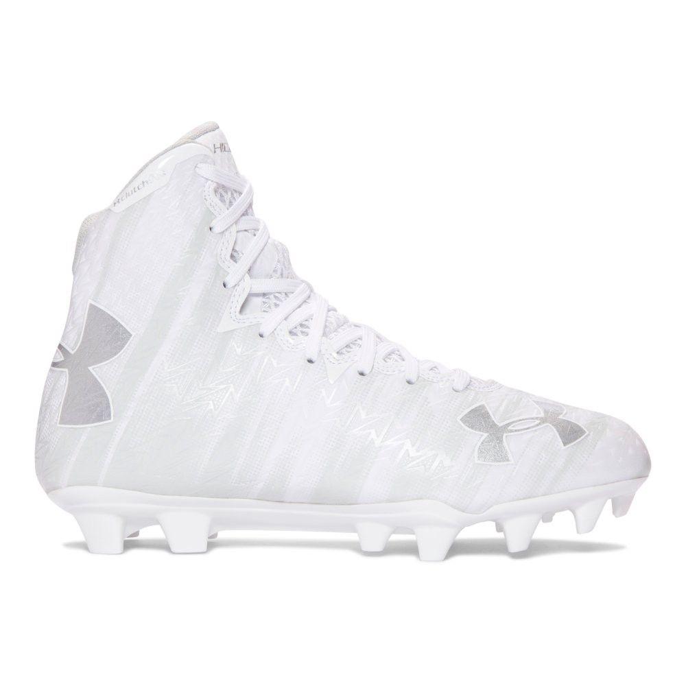 Ua Highlight Mc Lacrosse Cleats In White 160 Tacos De Futbol Tochito Femenil