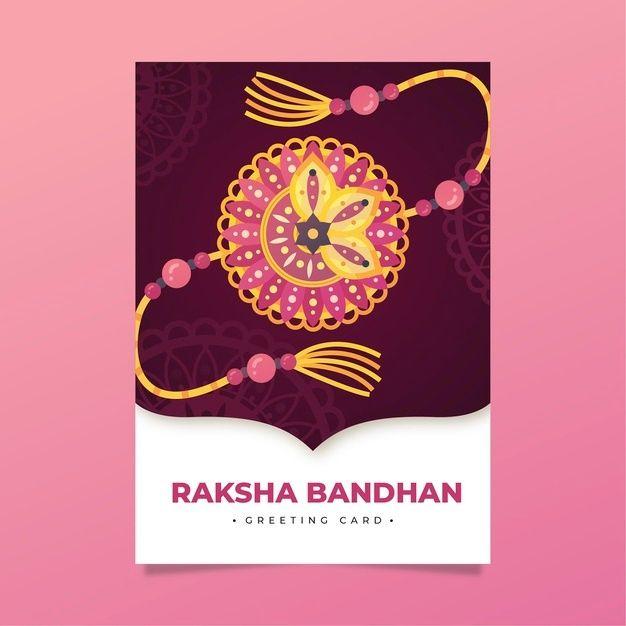 Download Raksha Bandhan Greeting Card for free