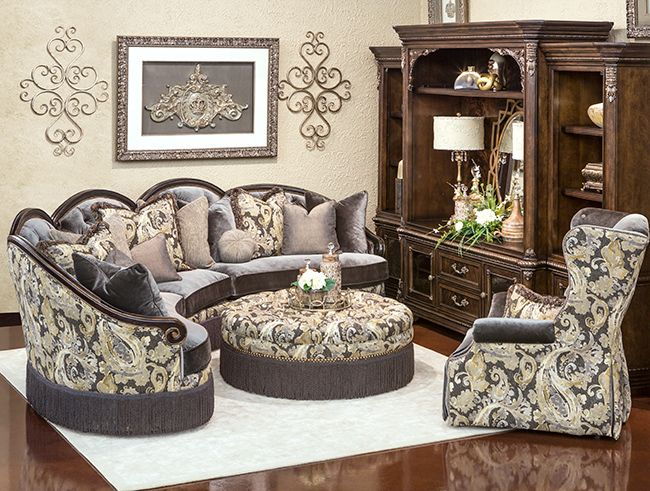 A World Of Fine Furnishings Luxury Living Room Living Room Sofa Set Family Room Decorating
