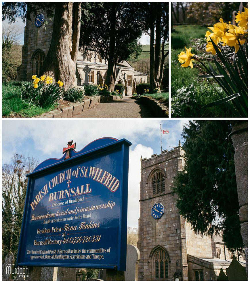 St Wilfrid's Church, Burnsall, Yorkshire Dales   Wedding ...