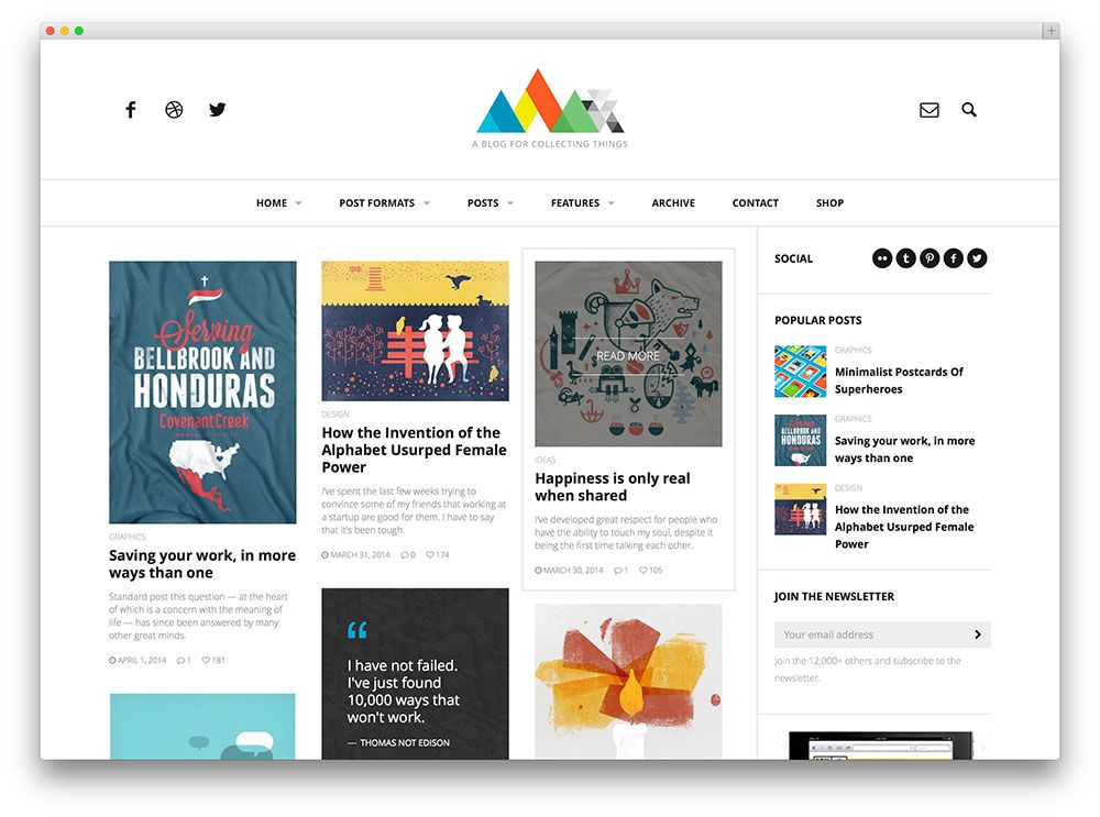 Best Blog Design heap masonry blog theme | wordpress themes | pinterest | wordpress