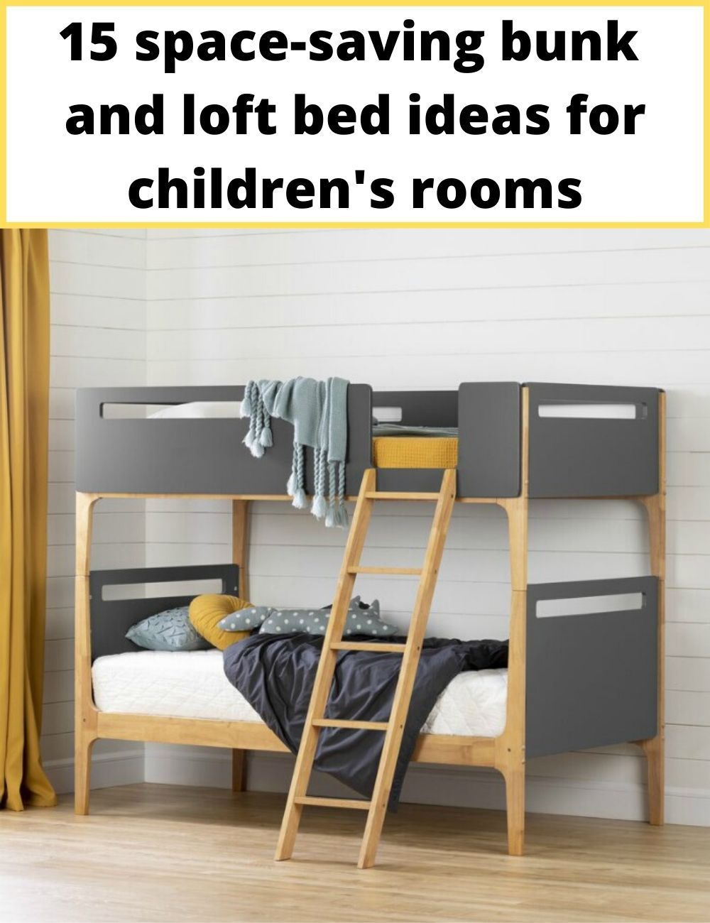 15 Space Saving Bunk And Loft Bed Ideas For Children S Rooms Modern Bunk Beds Bunk Beds Twin Bunk Beds