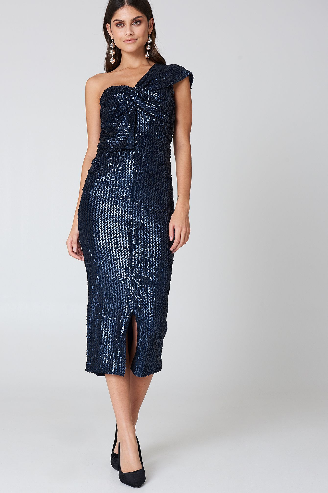 Sequin Navy dress pictures forecasting to wear for spring in 2019