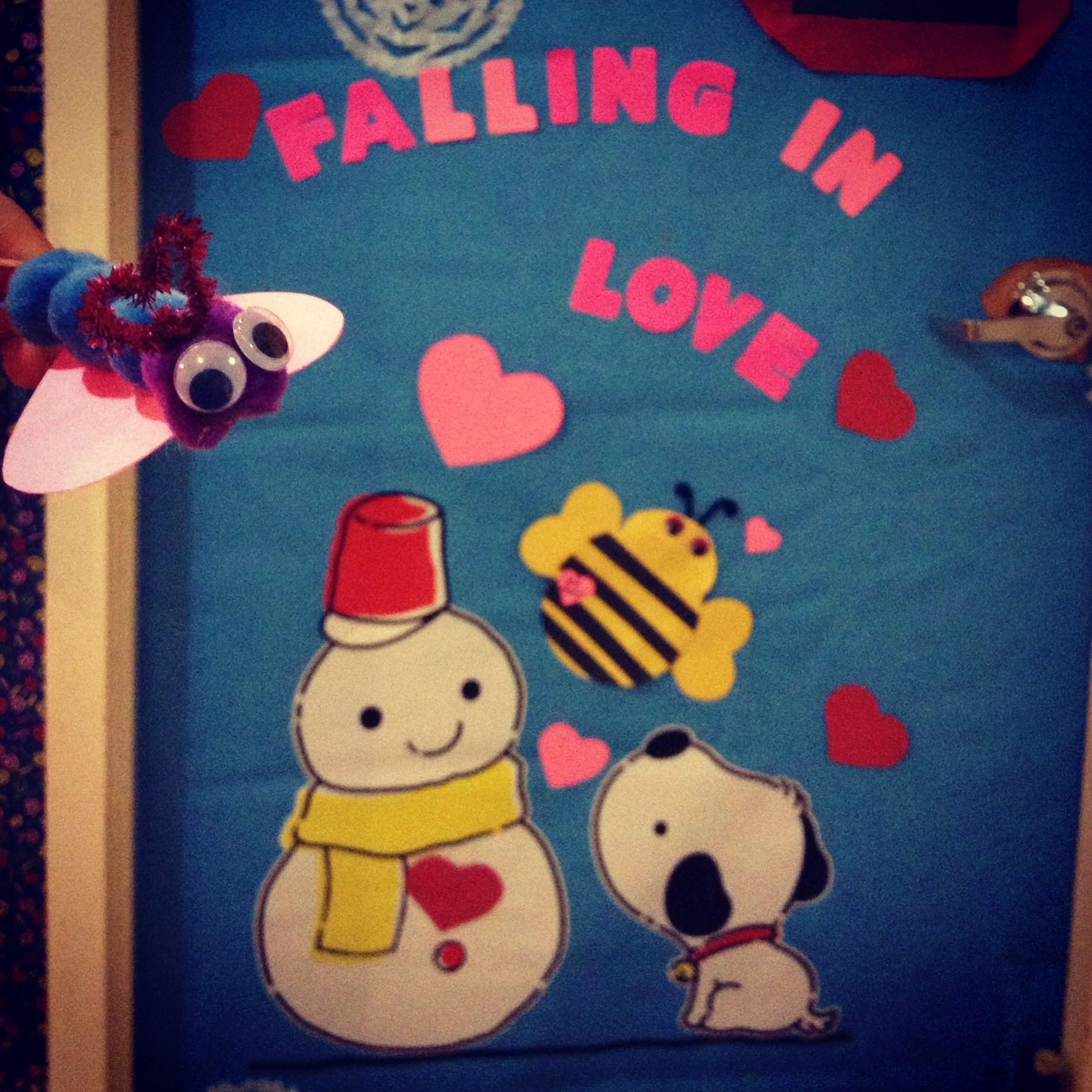 Preschool Valentines Day Door Theme