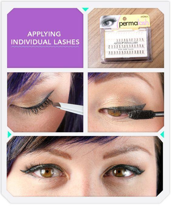 5 Tips For Mastering False Eyelashes Application Makeup Ideas