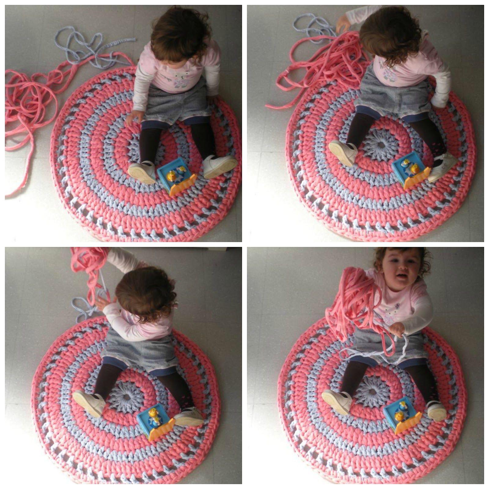 mijn wereld van wol: tutorial over hoe je een tapijt te maken met trapillo (2)