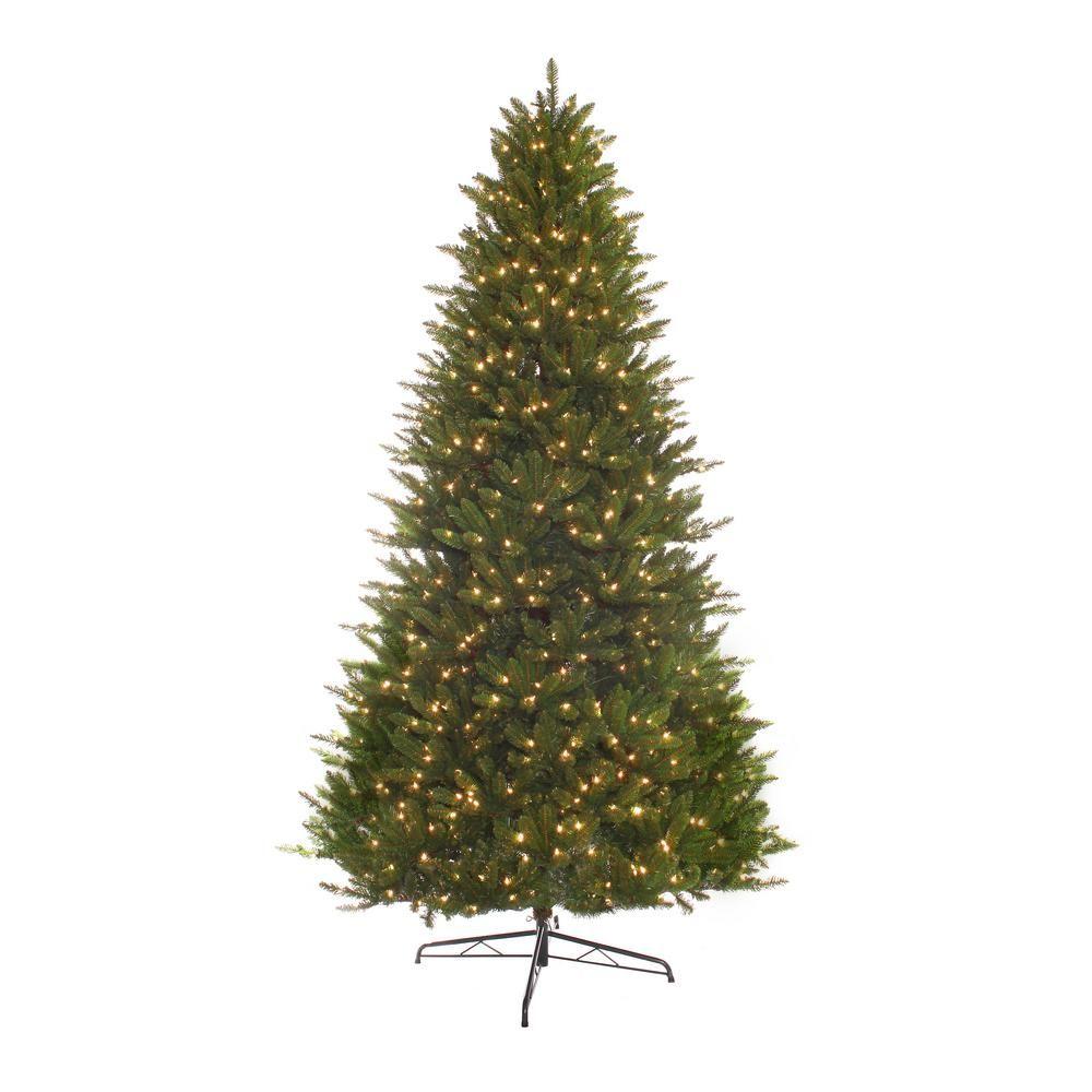 9 ft prelit incandescent miracle shape hamilton spruce