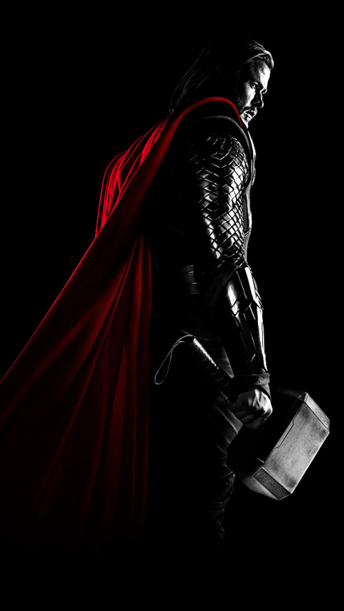 Free Thor Mobile Wallpaper By Robjm On Tehkseven