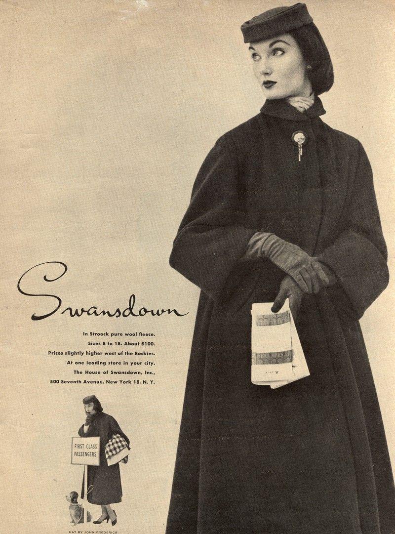 Lulus Vintage Blog: Vintage Womens Clothing Ads | Everything ...