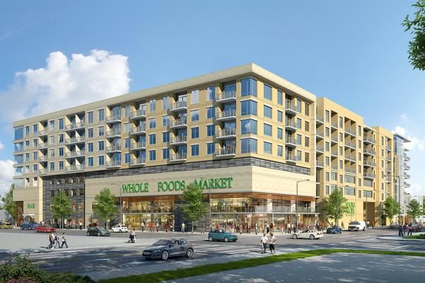 Mixed use Whole Foods Market and residential planned for Mid Town