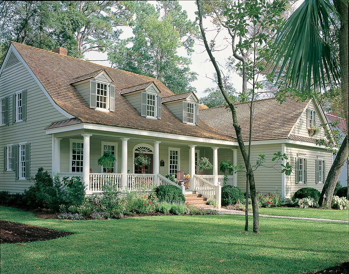 Plan 32644WP 3 Bed Country Cottage with Bonus Level Country
