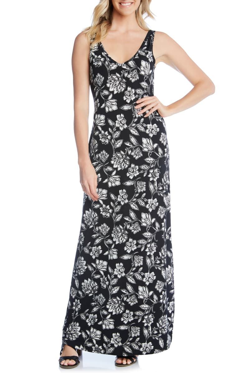 Karen Kane Floral Print Maxi Dress Nordstrom Printed Maxi Dress Floral Print Maxi Dress Nordstrom Dresses [ 1196 x 780 Pixel ]