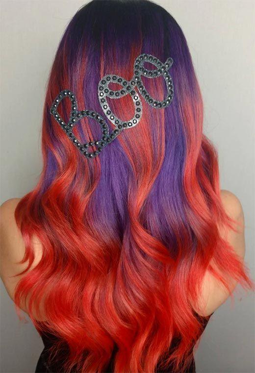 55 Glorious Sunset Hair Color Ideas for True Romantics ...