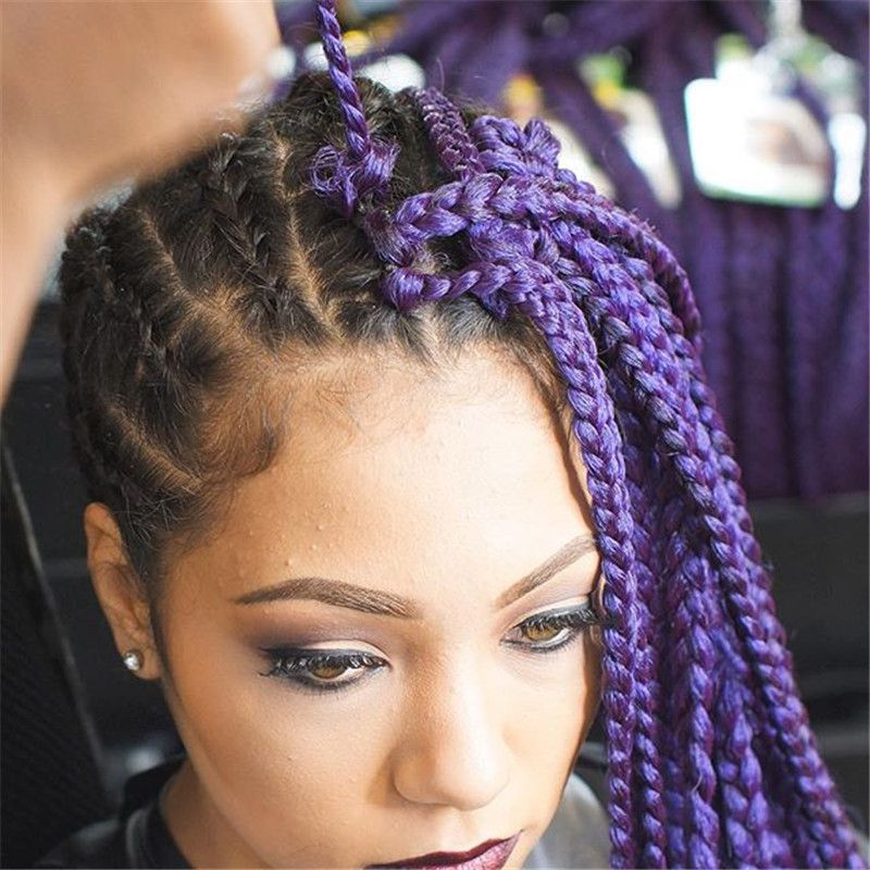 Pin on feed in braids with hair fetish