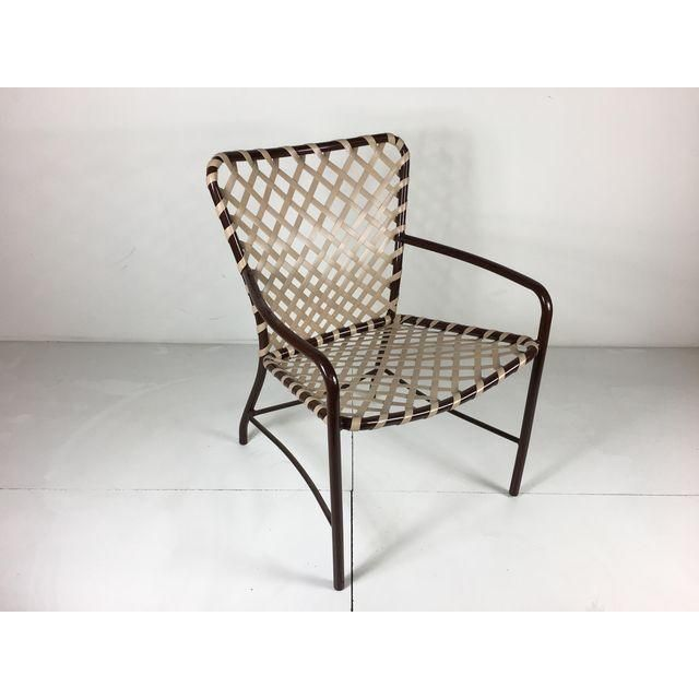 Brown Jordan Tamiami Dining Chair Red To New Condition This Was First Introduced In 1964 And Became One Of The Most Por Outdoor Poolside
