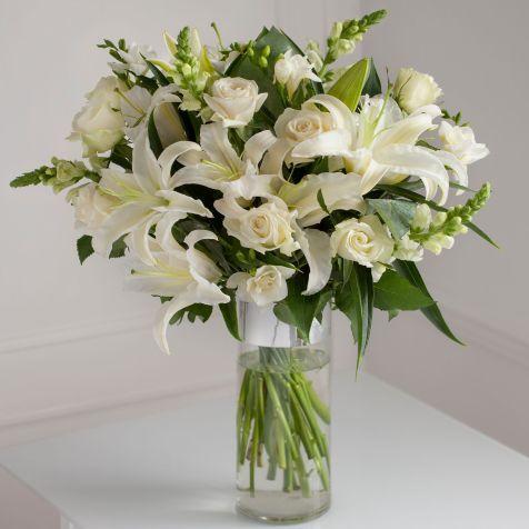 Luxury White Rose Vase Large At Next Easter Pinterest Flowers
