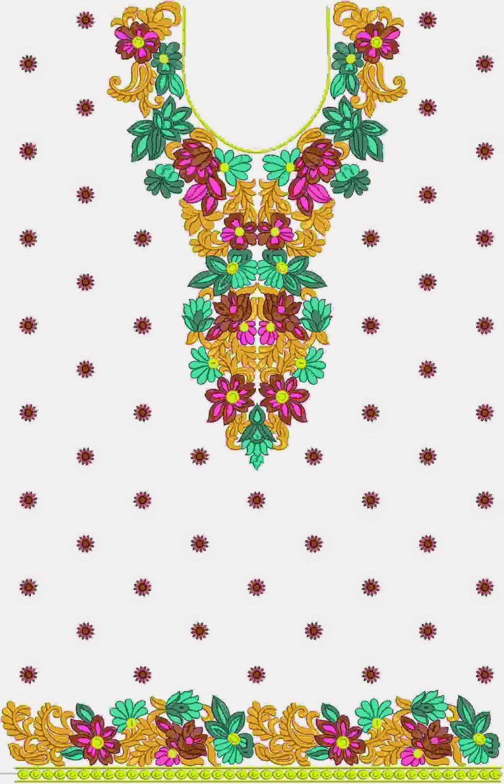 lang en wye Kurti rok | Patrones de costura | Pinterest | Bordado ...