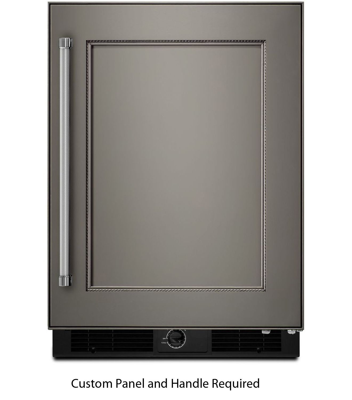 Kitchenaid 24 panel ready undercounter refrigerator