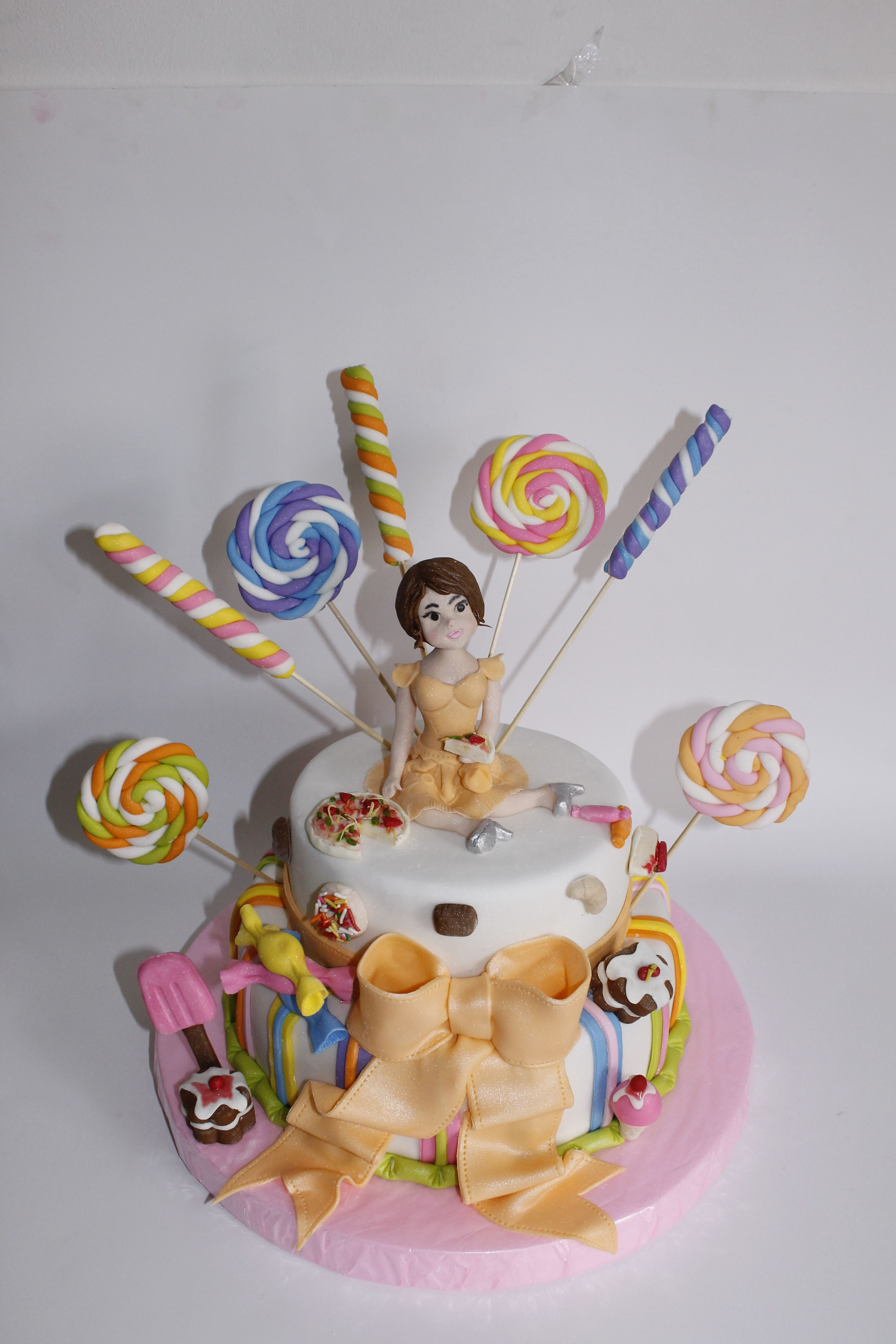Torta Candy Party 100% Comestible.