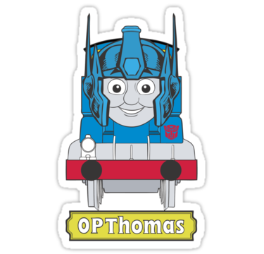 OPThomas Prime by McNasty @redbubble